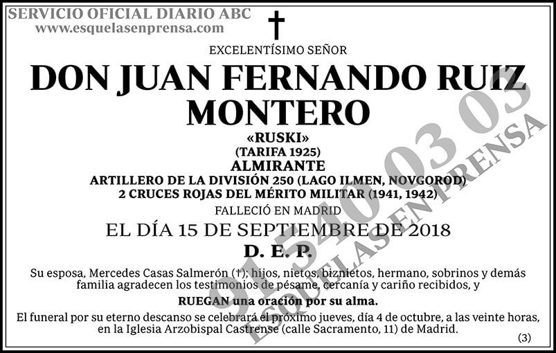 Juan Fernando Ruiz Montero
